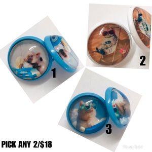 Jewelry - 2/$18 Animal Beach Bums Earrings Mix & Match